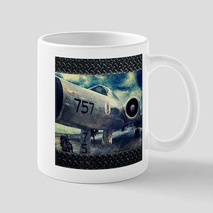 Vintage Kitsch retro plane Mugs