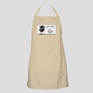Save a Tree, Buy a Picture Bo BBQ Apron