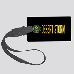 U.S. Army: Desert Storm Large Luggage Tag