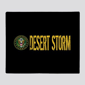 U.S. Army: Desert Storm Throw Blanket