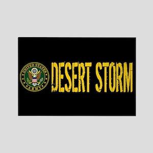 U.S. Army: Desert Storm Rectangle Magnet