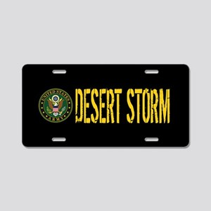 U.S. Army: Desert Storm Aluminum License Plate