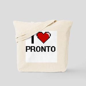 I Love Pronto Digital Design Tote Bag