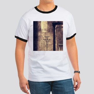 vintage ruins church candles T-Shirt