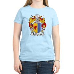 Estebanez Family Crest Women's Light T-Shirt