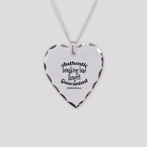 Breaking Bad Fangirl Necklace Heart Charm