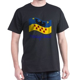 Waving Transylvania Historical Flag # T-Shirt