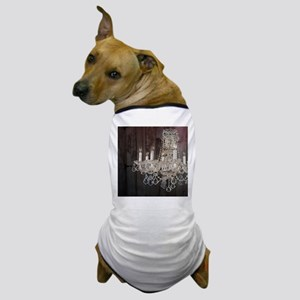 girly french country chandelier Dog T-Shirt