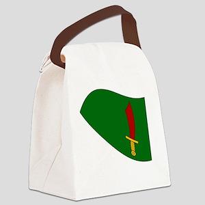 Waving Transylvania Historical Fl Canvas Lunch Bag