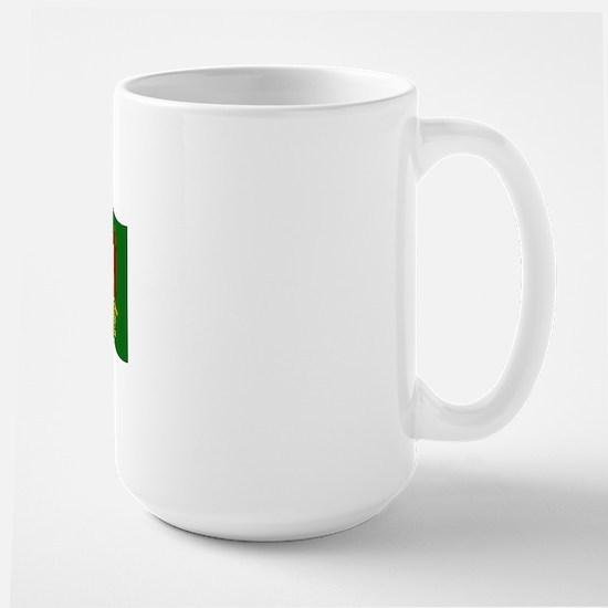 Waving Transylvania Historical Flag #3 Large Mug