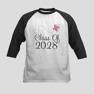 Class of 2028 butterfly Baseball Jersey