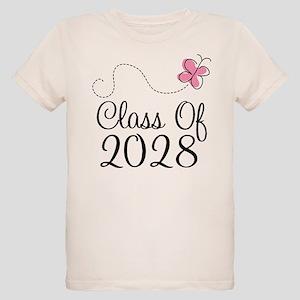 Class of 2028 butterfly T-Shirt