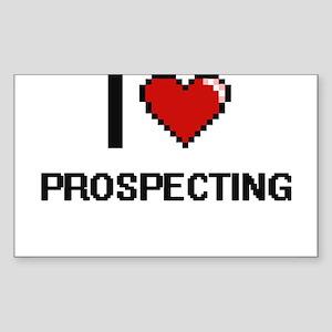 I Love Prospecting Digital Design Sticker