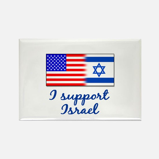 Cute Support isreal Rectangle Magnet