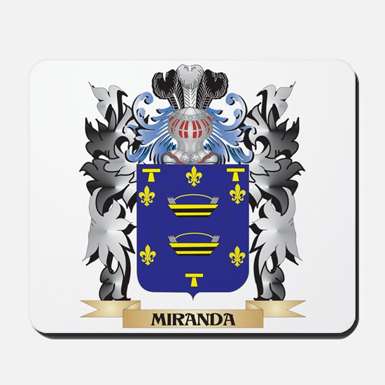 Miranda Coat of Arms - Family Crest Mousepad