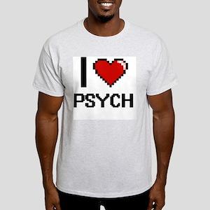 I Love Psych Digital Design T-Shirt