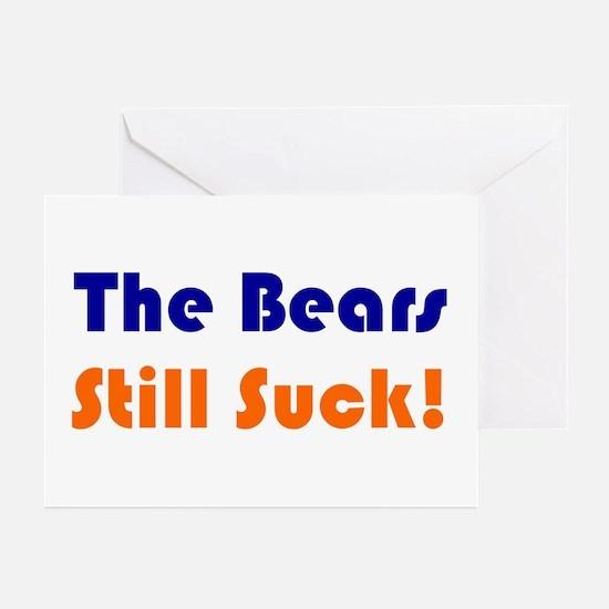 Bears Still Suck Greeting Cards (Pk of 10)