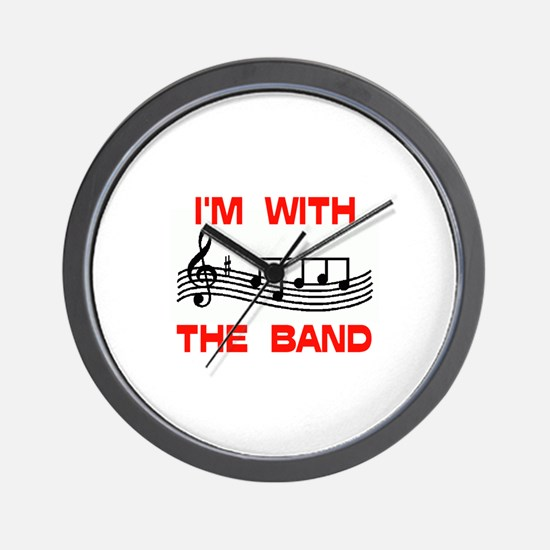 WITH THE BAND Wall Clock