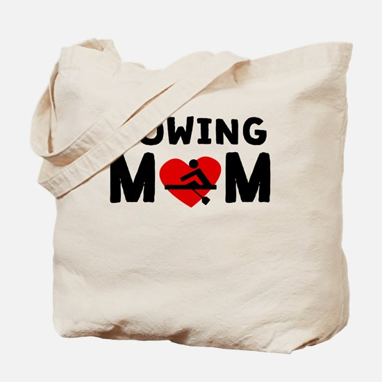 Rowing Mom Tote Bag