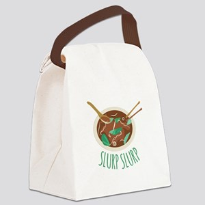 Slurp Slurp Canvas Lunch Bag