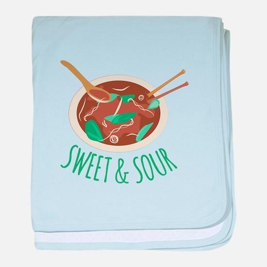 Sweet & Sour baby blanket