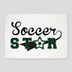 Soccer Star 5'x7'Area Rug