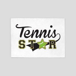Tennis Star 5'x7'Area Rug