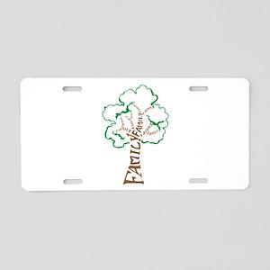 Family Tree Aluminum License Plate