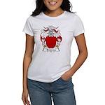 Entenza Family Crest Women's T-Shirt
