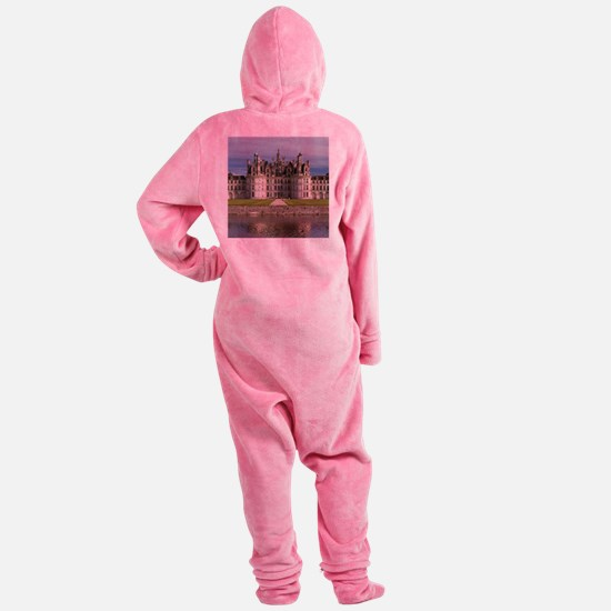 CHAMBORD CASTLE Footed Pajamas