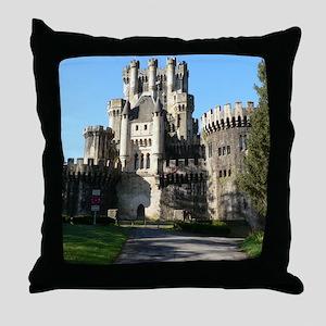 BUTRON CASTLE Throw Pillow