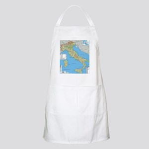 Map of Italy Apron