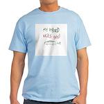 Hybrid Car Kicks Gas Light T-Shirt