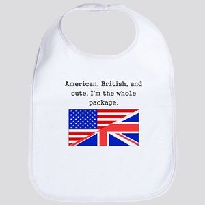 American British And Cute Bib
