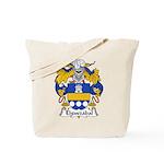 Elguezabal Family Crest Tote Bag