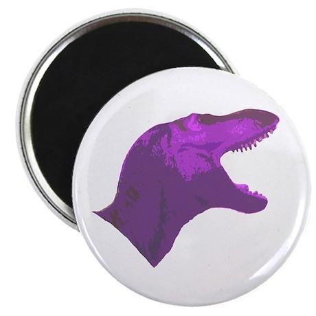 "Purple Tyrannosaur 2.25"" Magnet (10 pack)"