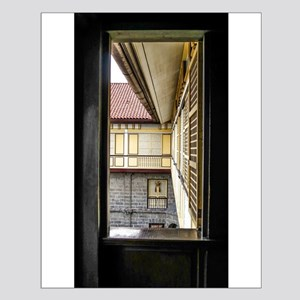 Casa Manila Courtyard Window Posters