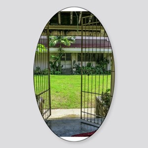 Gated Courtyard Sticker