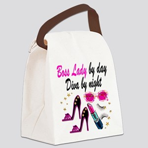 BOSS LADY Canvas Lunch Bag