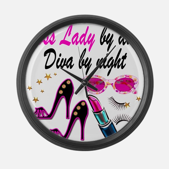 BOSS LADY Large Wall Clock