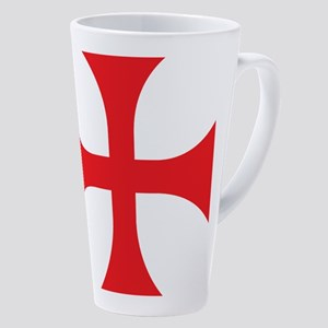 Knights Templar 17 Oz Latte Mug