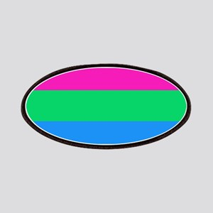 Polysexual Pride Flag Patch