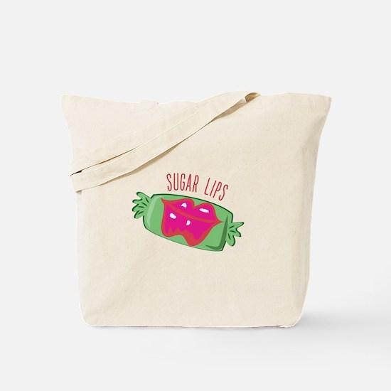 Sugar Lips Tote Bag
