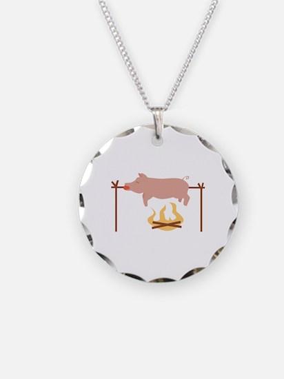 Pig Roast Necklace