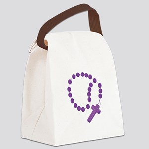 Rosary Canvas Lunch Bag