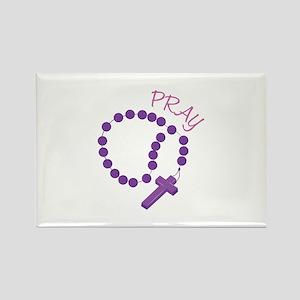 Pray Rosary Magnets