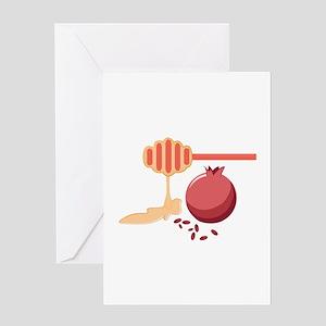 Pomegranate & Honey Greeting Cards