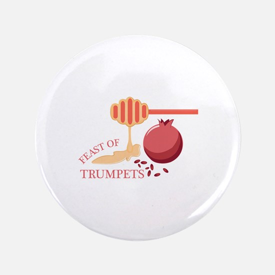 Feast Of Trumpets Button