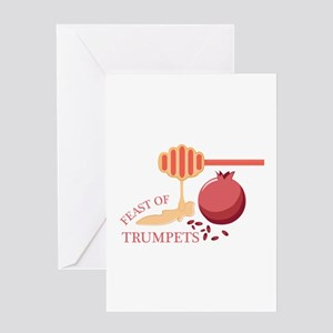 Feast Of Trumpets Greeting Cards
