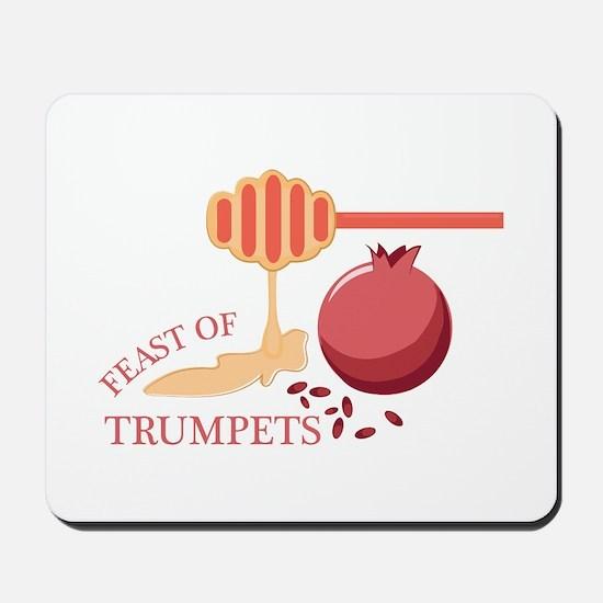 Feast Of Trumpets Mousepad